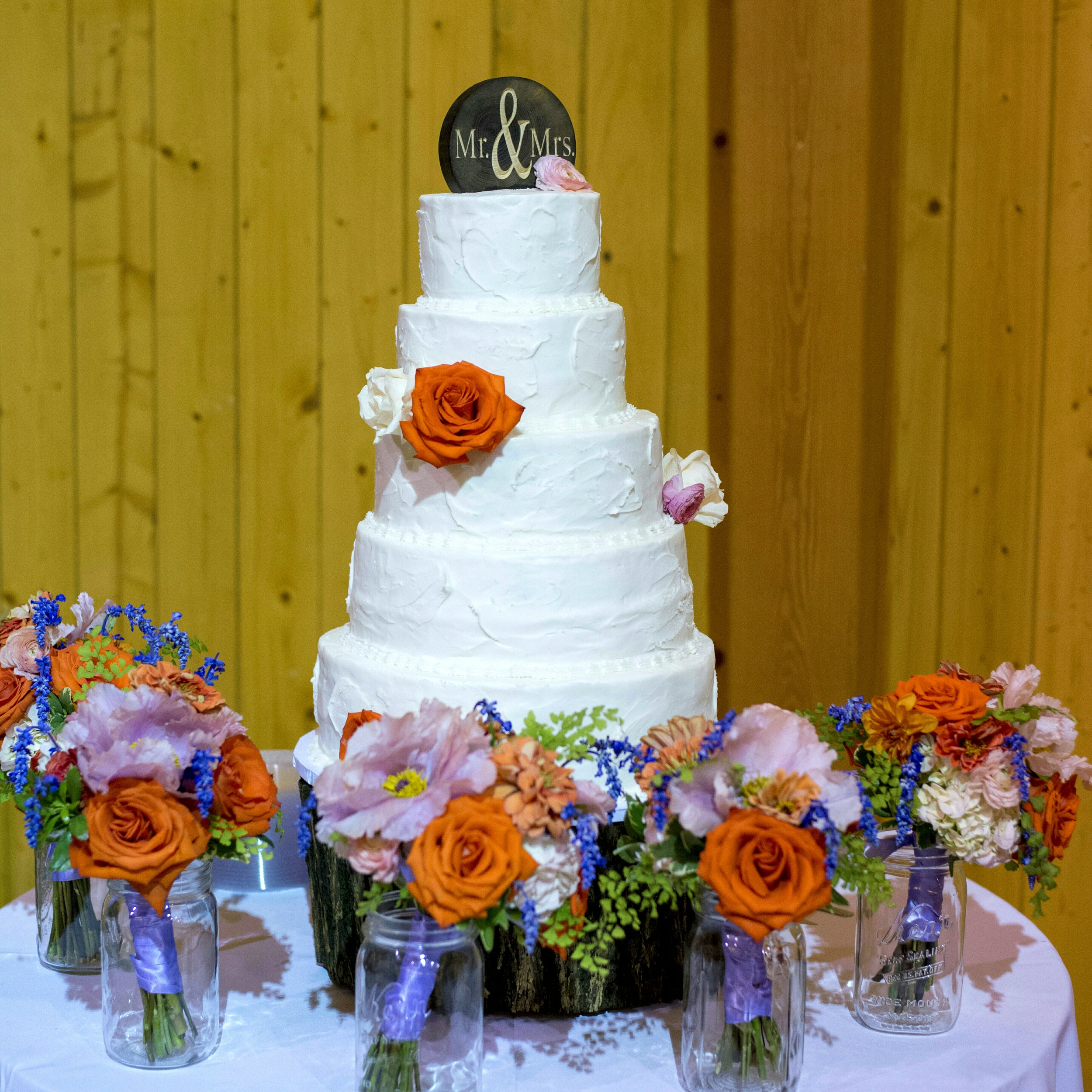 Wedding Cake by Fresh Baked-Sarah Blanchard