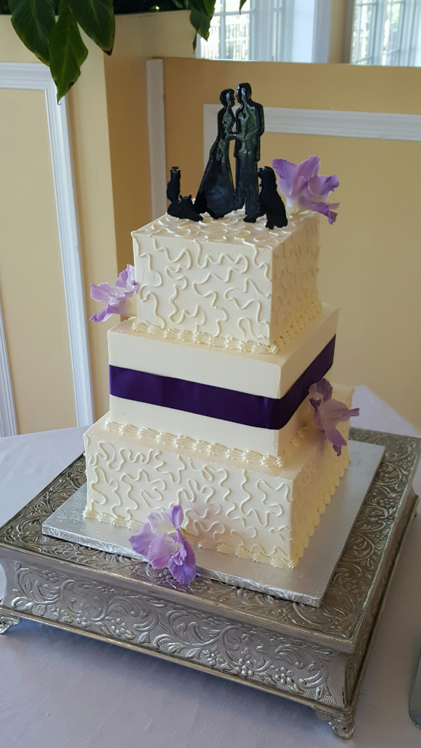Wedding Cake- Roanoke Country Club