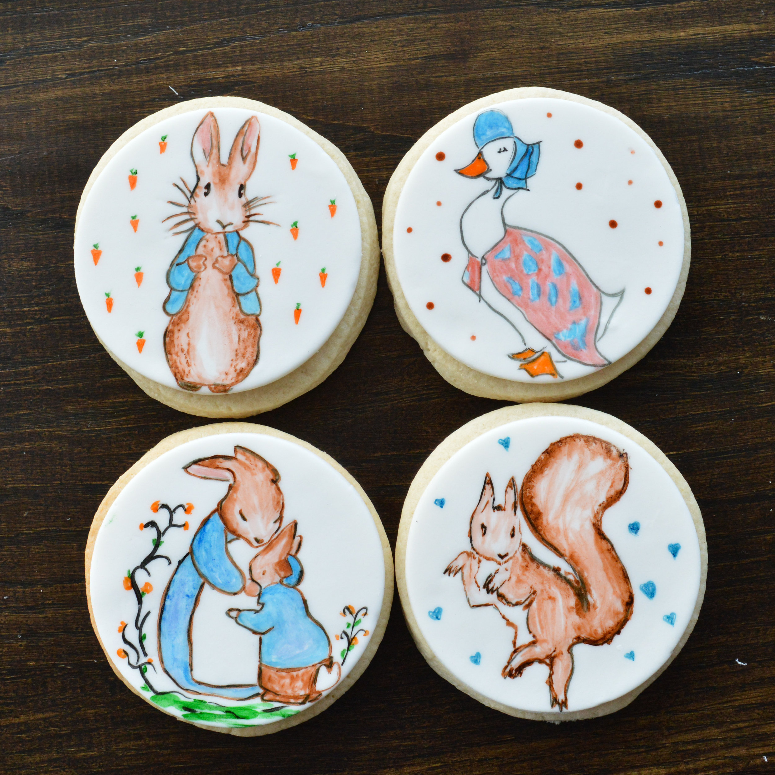 Peter Rabbit Sugar Cookies