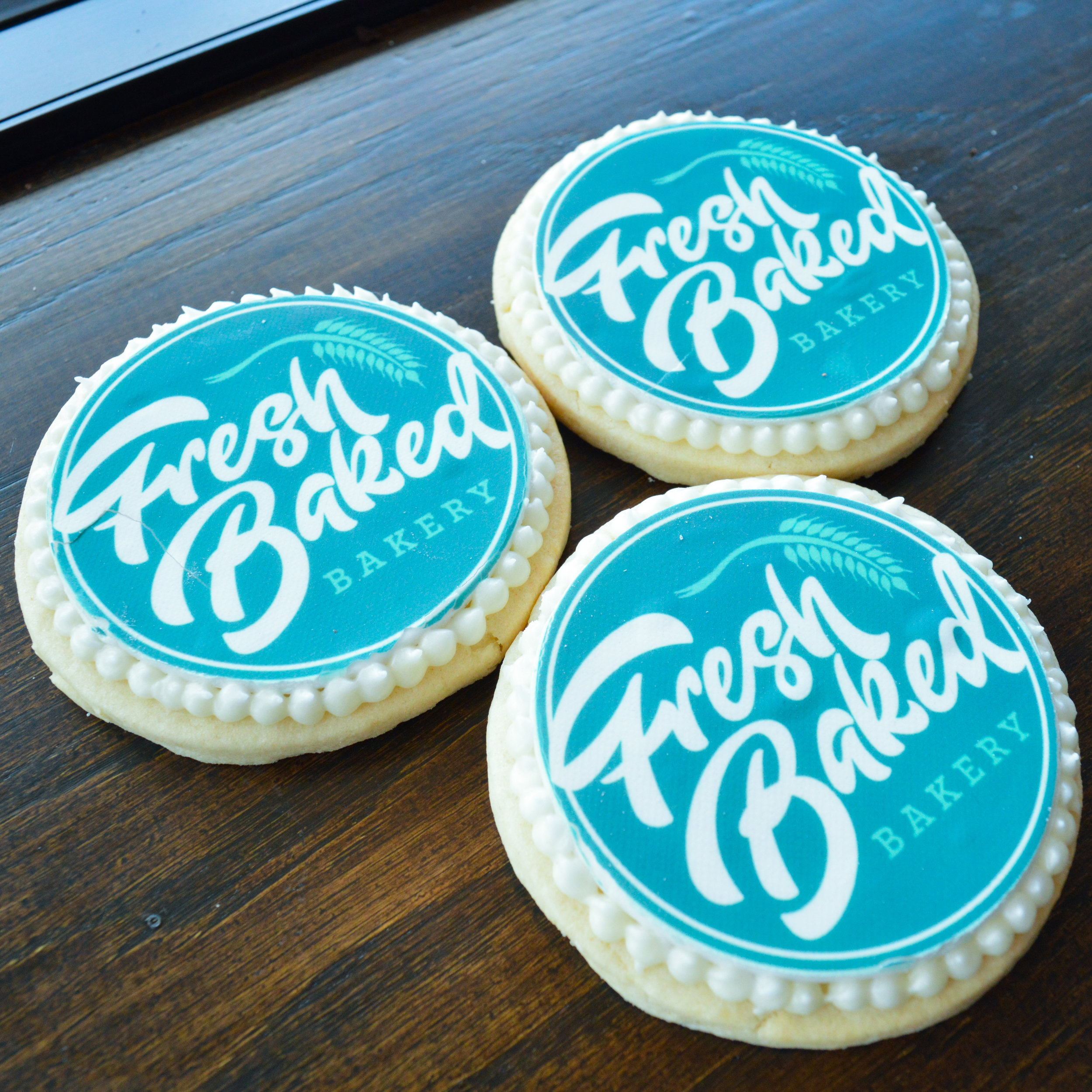 Custom Logo Sugar Cookies