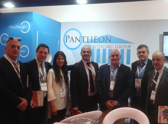 Conversaciones importantes con el Grupo Pantheon Healthcare