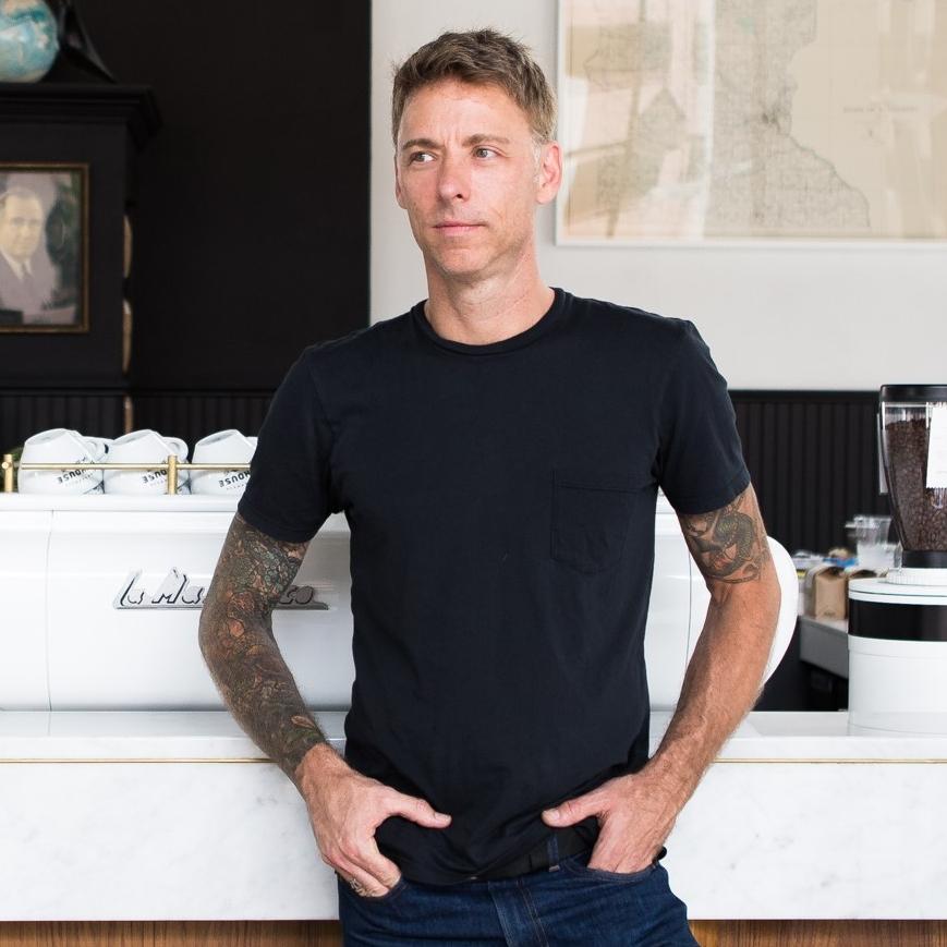 Christian Johnson, Spyhouse Coffee Roasting Co.
