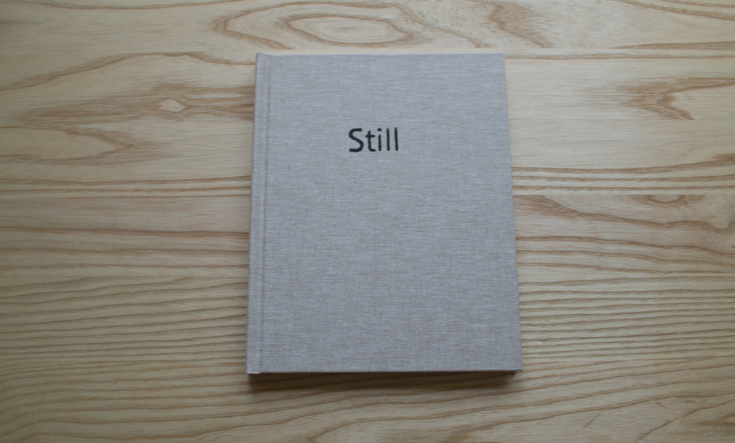 Still  |  A Series of Lived Meditations   Self-published artist book. 2015  Small Preview