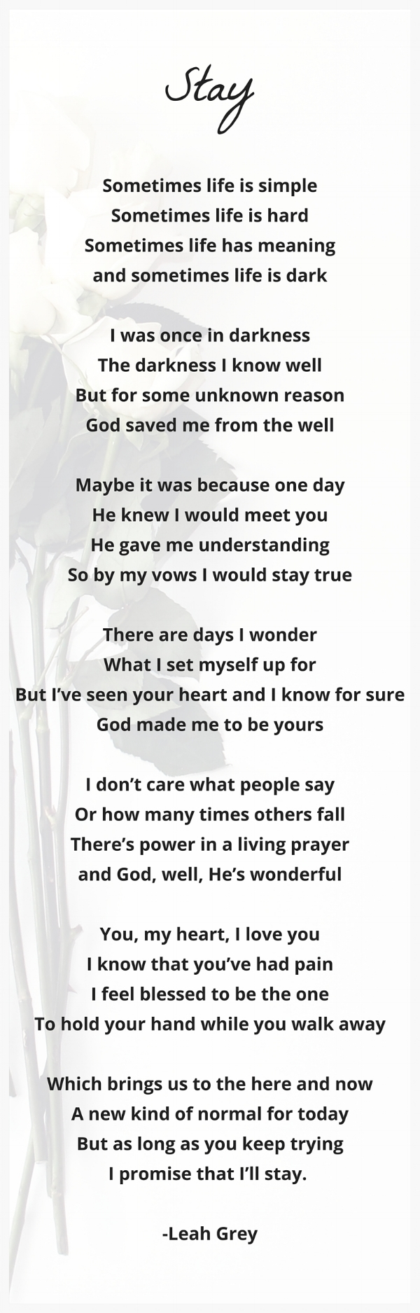 """""""You Ain't Gotta Make Your Mind Up (Right Now)"""" By: Leah Grey 