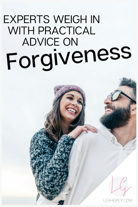 """Forgiveness is one of those things I think we all have to struggle with at one point in our lives. No one is immune to being hurt so forgiveness becomes an important part of our human relationships. To get a better understanding on this often very difficult subject, I asked some of my favorite fellow bloggers, writers, speakers and Christian influencers: """"What practical advice would you give to a woman who's really struggling with forgiveness?"""" READ MORE OR PIN FOR LATER!"""