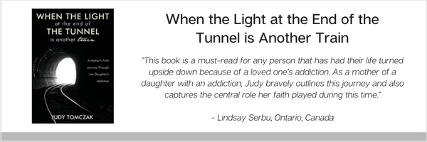 """Judy Tomczak, """"When The Light at The End of The Tunnel is Another Train"""