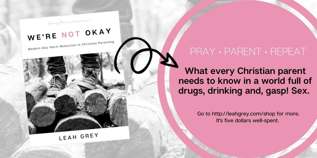 We're Not Okay by Leah Grey
