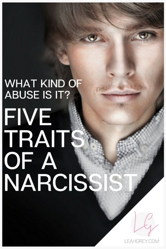 What Kind of Abuse is it? Five Traits of a Narcissist
