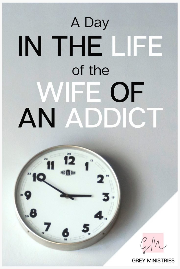 Thousands of Christians struggle silently with addiction every day. Peer inside a day in the life of the wife of an addict. Are you married to someone struggling with an addiction? Do you need help making loving, Godly boundaries? Read this!