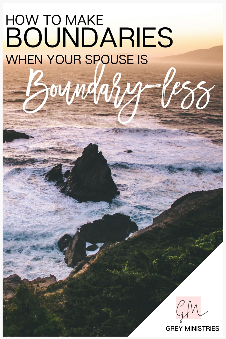 Do you have a loved one who has, or has had, an addiction and you're struggling to make boundaries? What do you do to make boundaries when your spouse is boundary-less?! Christian Mental Health Therapist, Melissa Gendreau shares with us how to make boundaries and keep them (even when your sPouse doesn''t!).