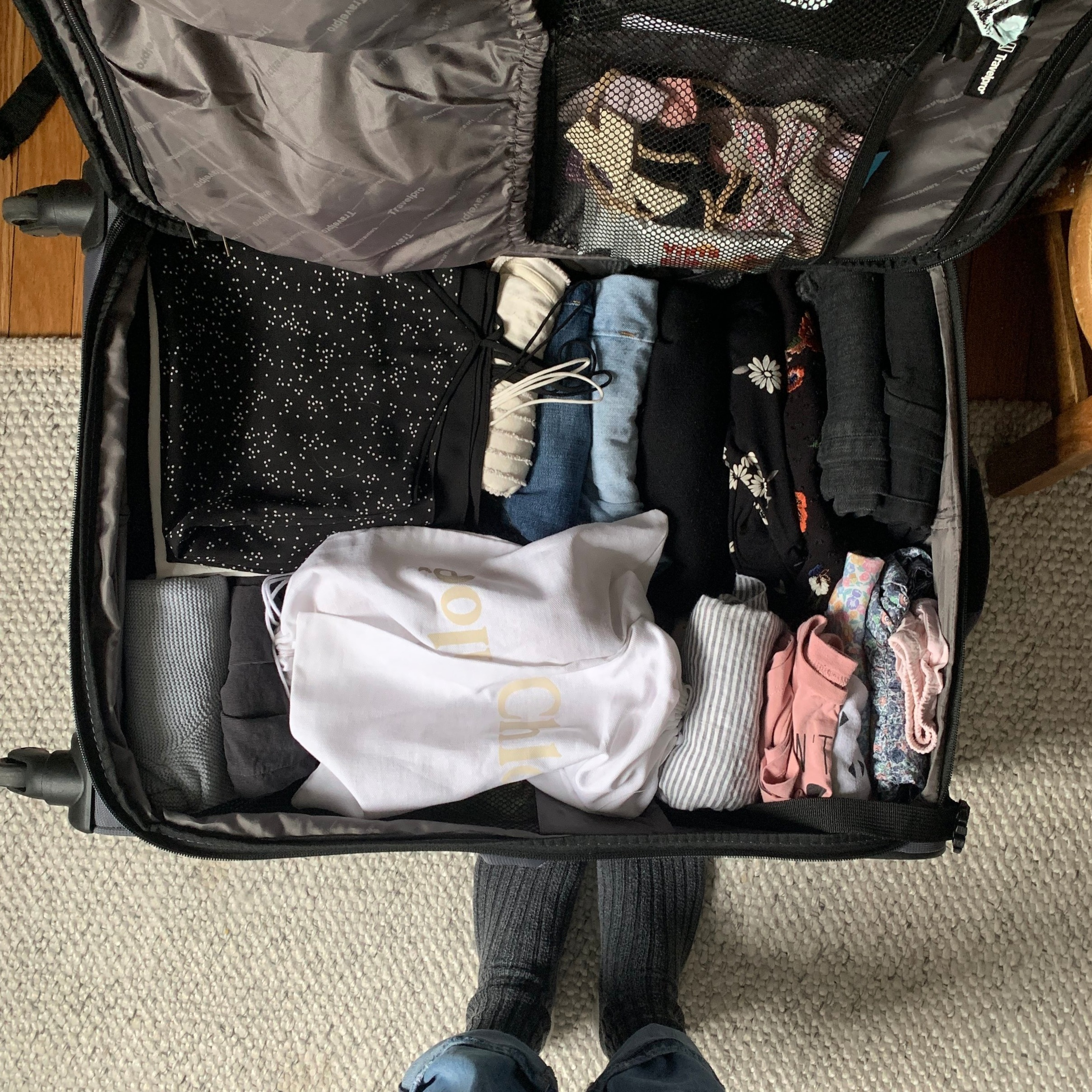Packing for two weeks in Europe