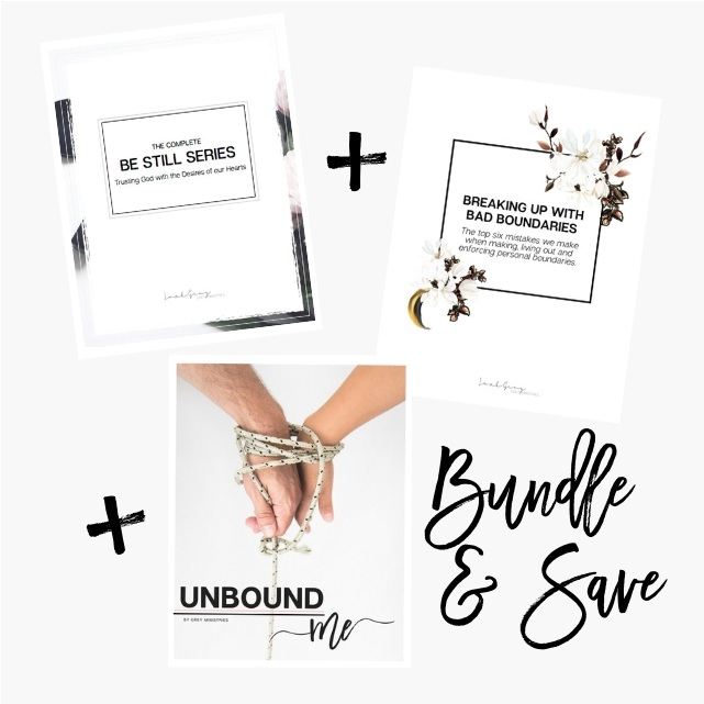 bundle and save on our courses on boundaries for Christian women