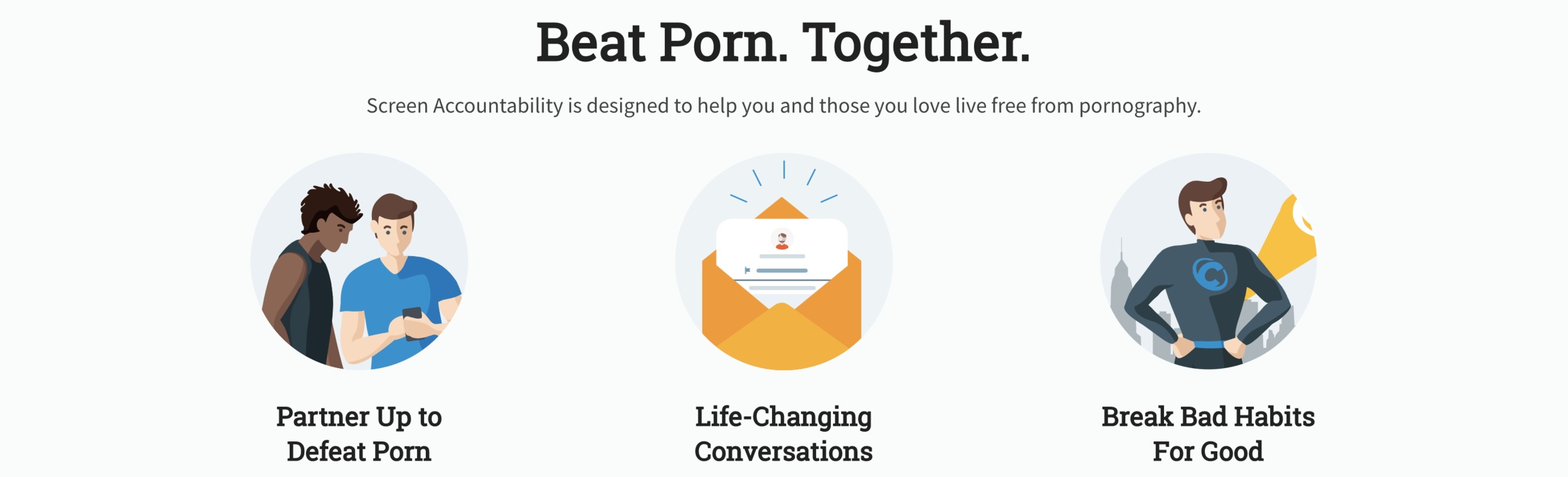 Beat porn with accountability software