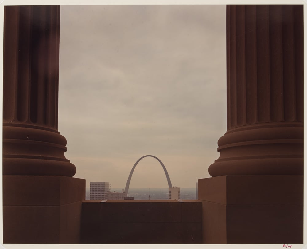 The Arch from the top of the Civil Courts Building