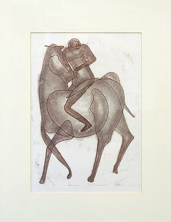 Untitled (Horse and Rider)