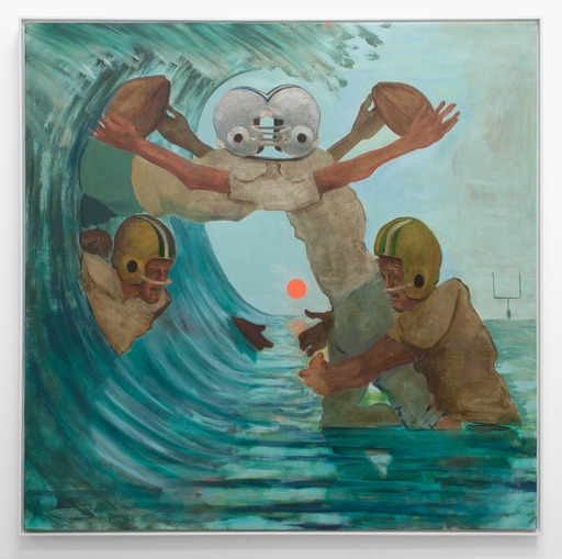 """Ethan Gill, No Good, oil on canvas, 60"""" x 60"""", 2015."""