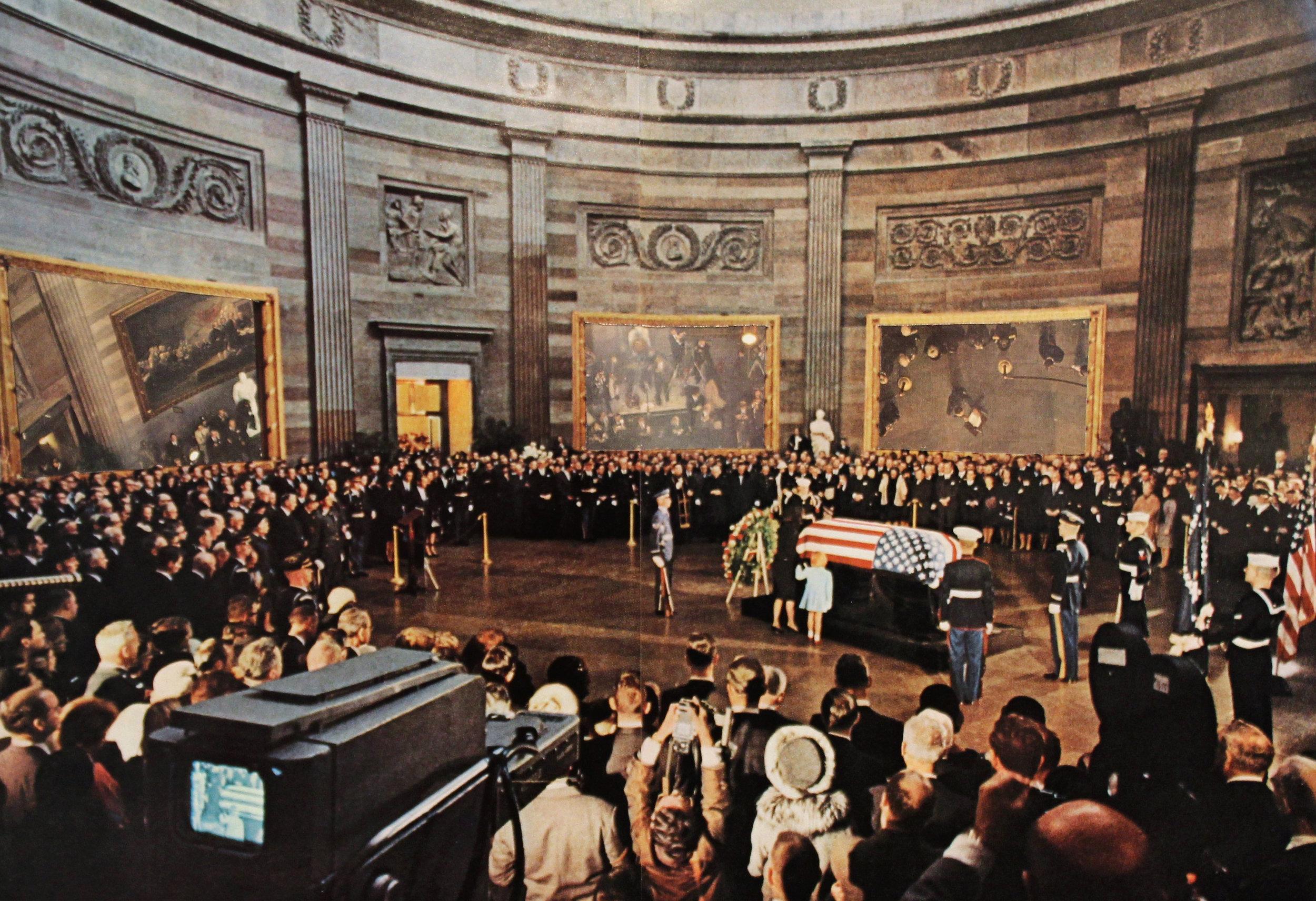 Scene from JFK's Funeral.jpg