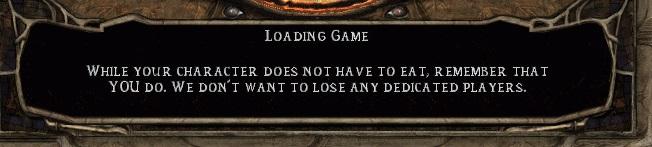Jopa pelisuunnittelijat ovat joskus tunteneet tarvetta muistuttaa pelaajiaan pitämään huolta itsestään.