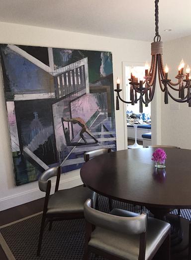 Vega dining table, custom grand Passy chandelier.PNG