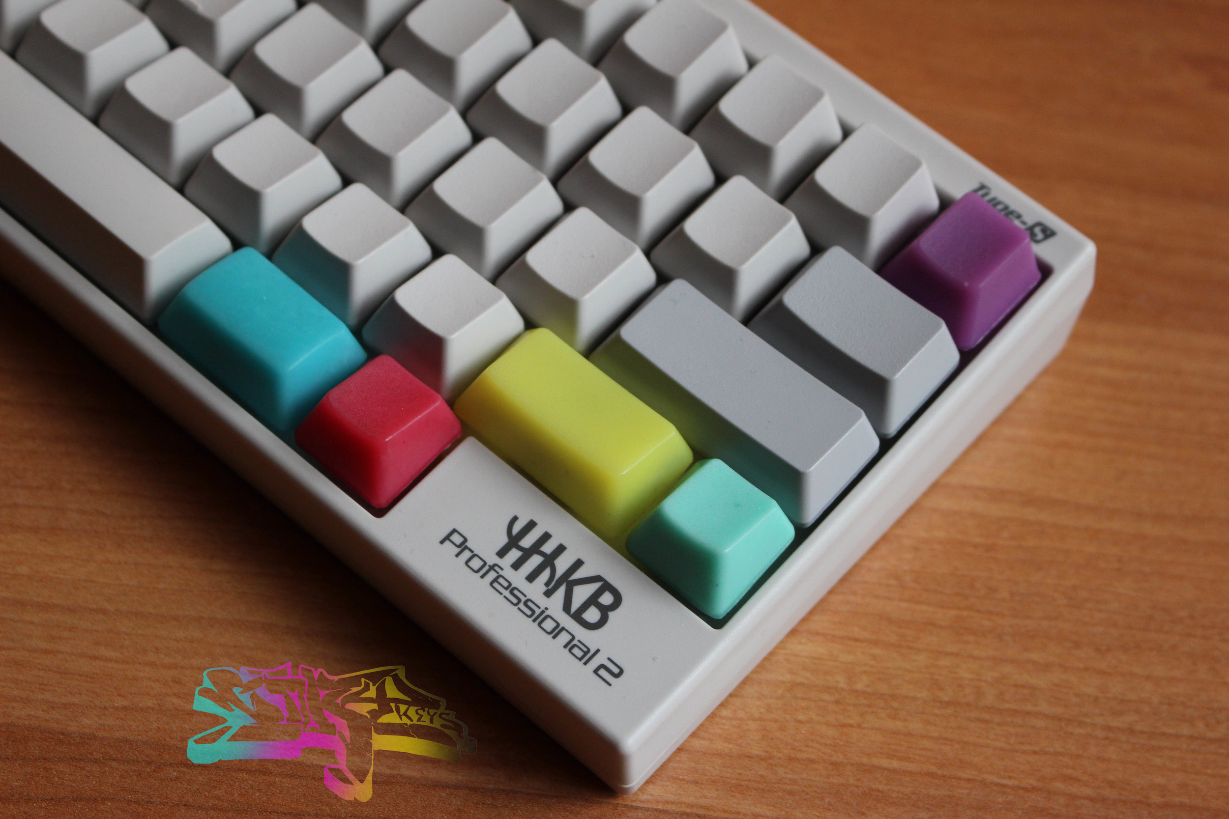 CMYKeys Modifiers β   HHKB Set (Shift,Alt,Fn,R1) -$25  Realforce Set (Shift, Alt, Ctrl, Inverted Ctrl, R1) - $28  NAV/WASD Clusters - $10  Double Pour R1 (C,M,Y) - Free with purchase of $50 or more