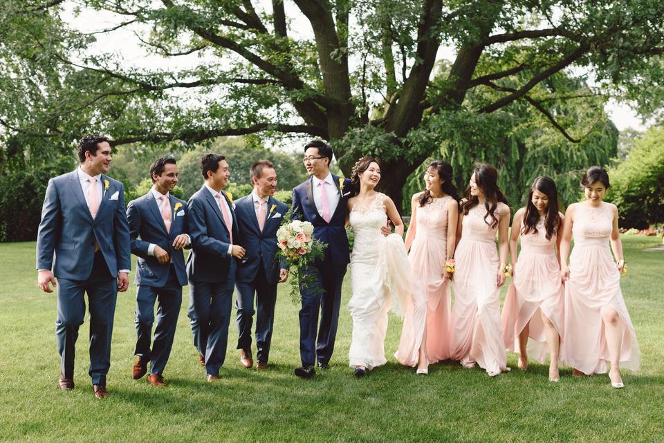 bridal-party-newyork-castle-wedding