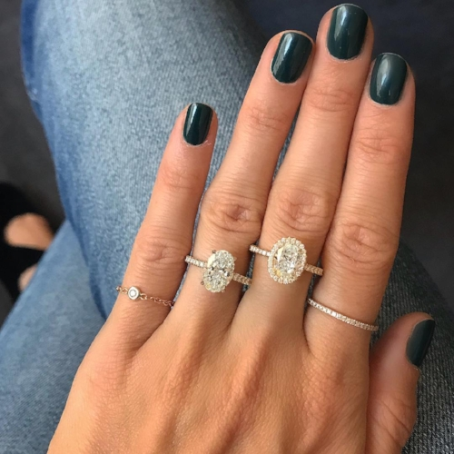Oval Rings by New York private jeweler Stephanie Gottlieb