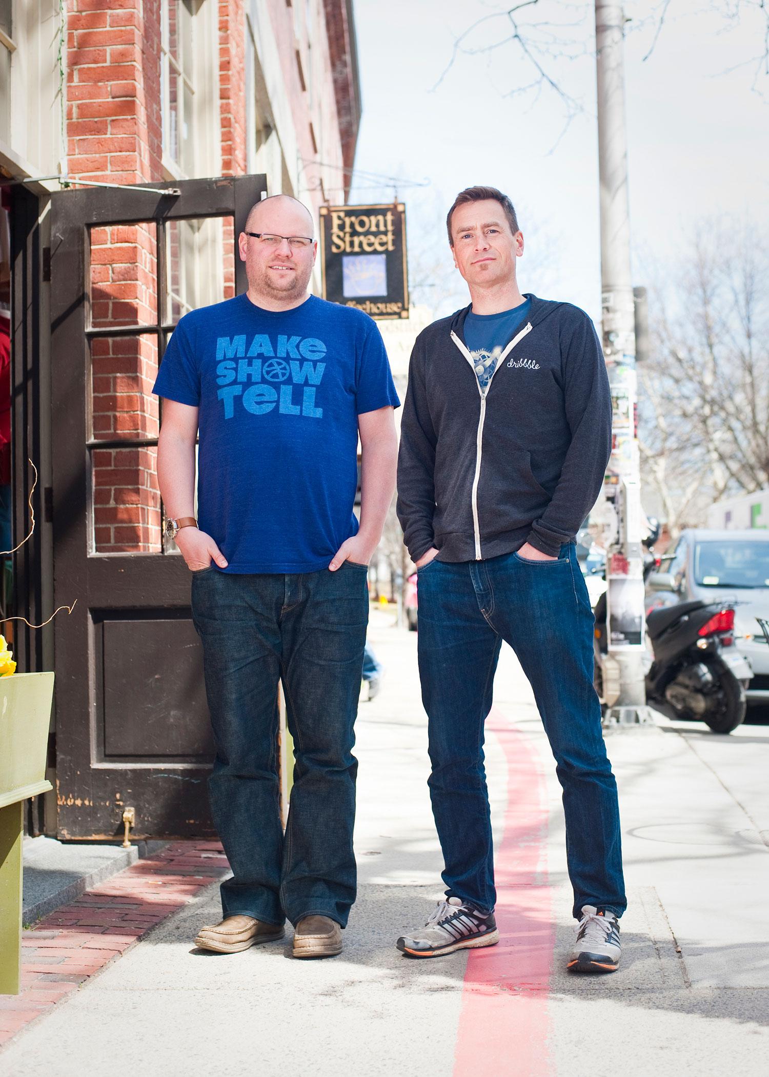 Dan Cederholm & Rich Thornett, Dribbble Co-Founders