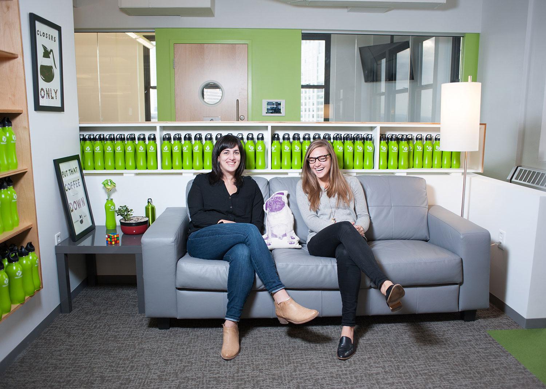 Eileen Ani & Bev Achterhof, designers at Yesware
