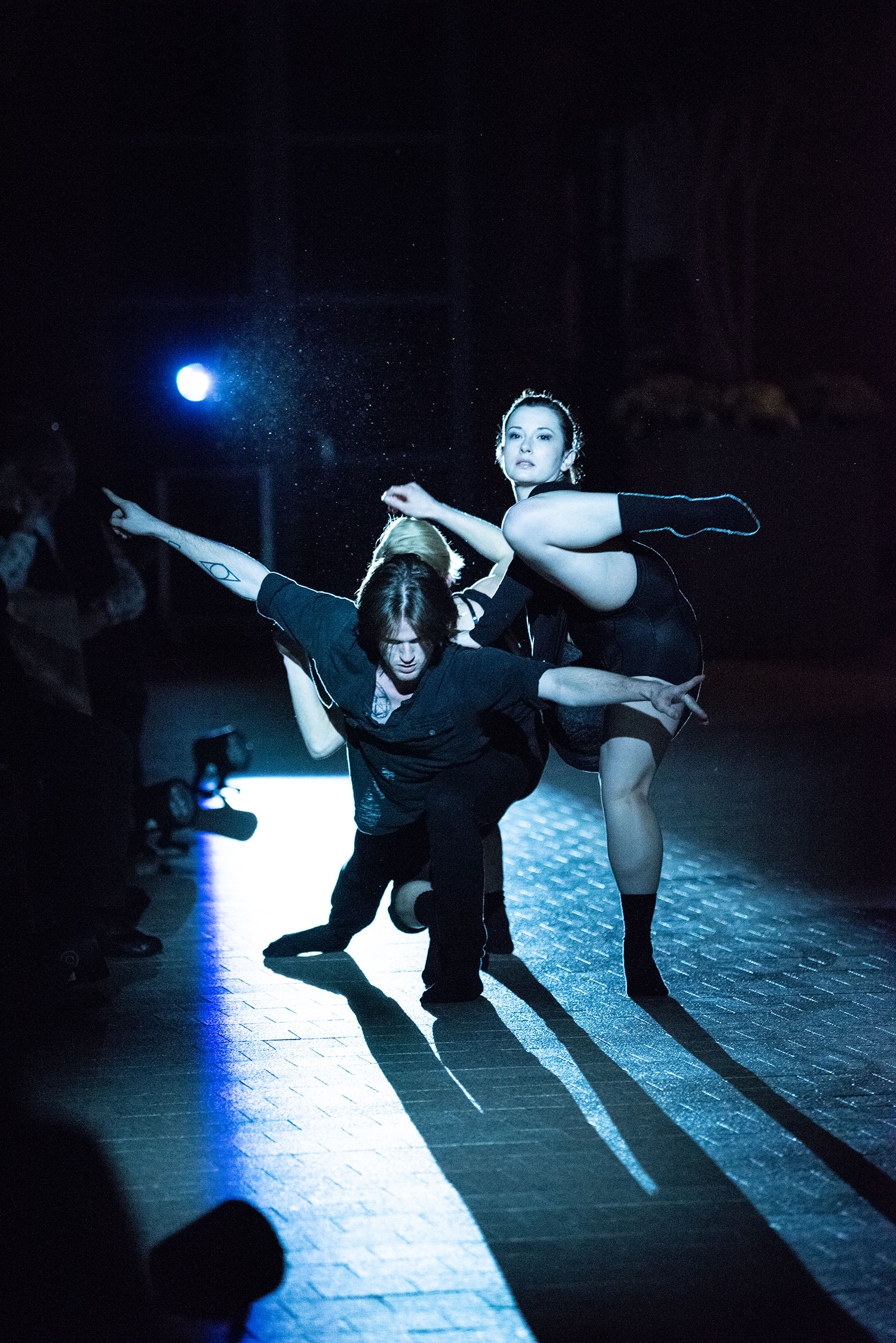 Meg Anderson, Jacob Regan and Haley Day, Urbanity Dance