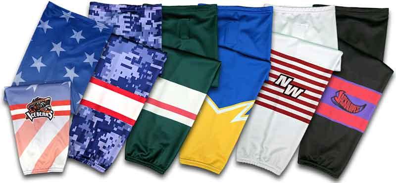 custom hockey uniforms  custom hockey socks