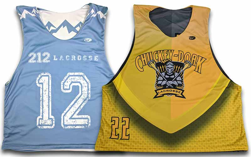 custom lacrosse uniforms  custom lacrosse pinnies