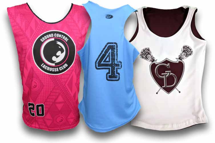custom lacrosse uniforms  custom lacrosse pinnies  women's lacrosse pinnies  women's lacrosse uniforms