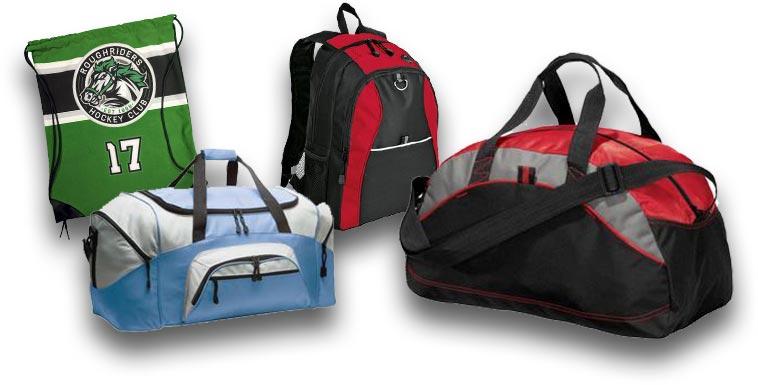 custom team bags  custom team luggage  custom team carryall