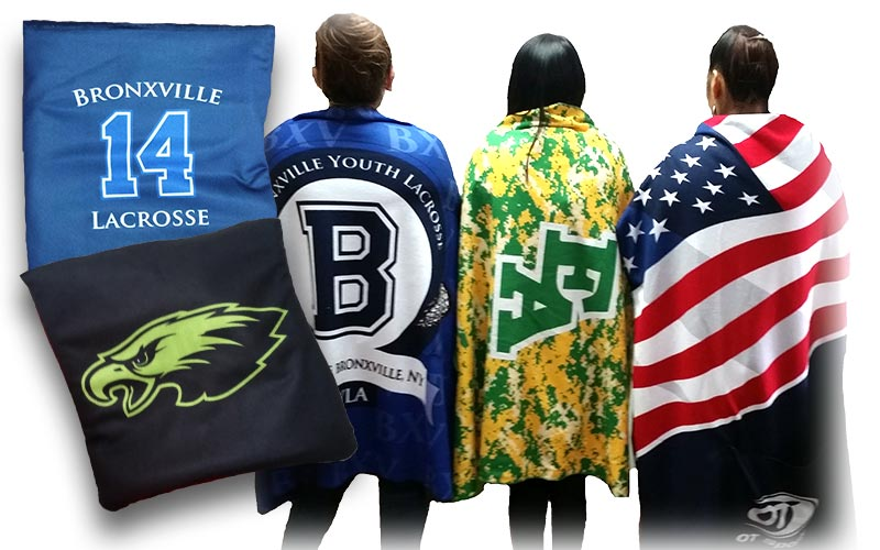 custom stadium blankets  team stadium blankets