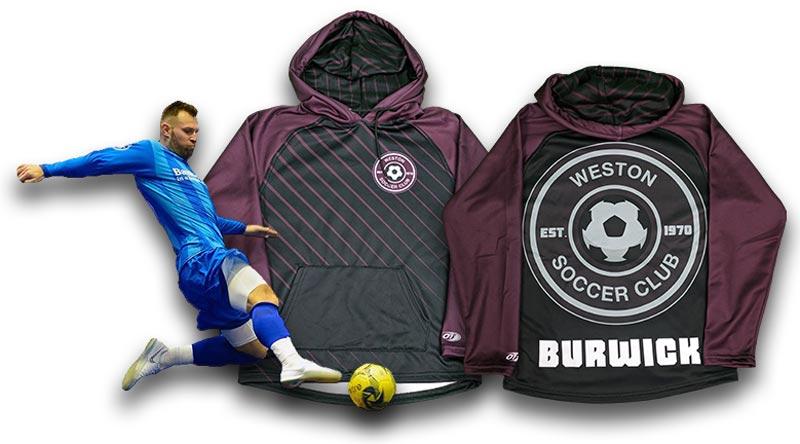 custom soccer hoodies  custom team hoodies