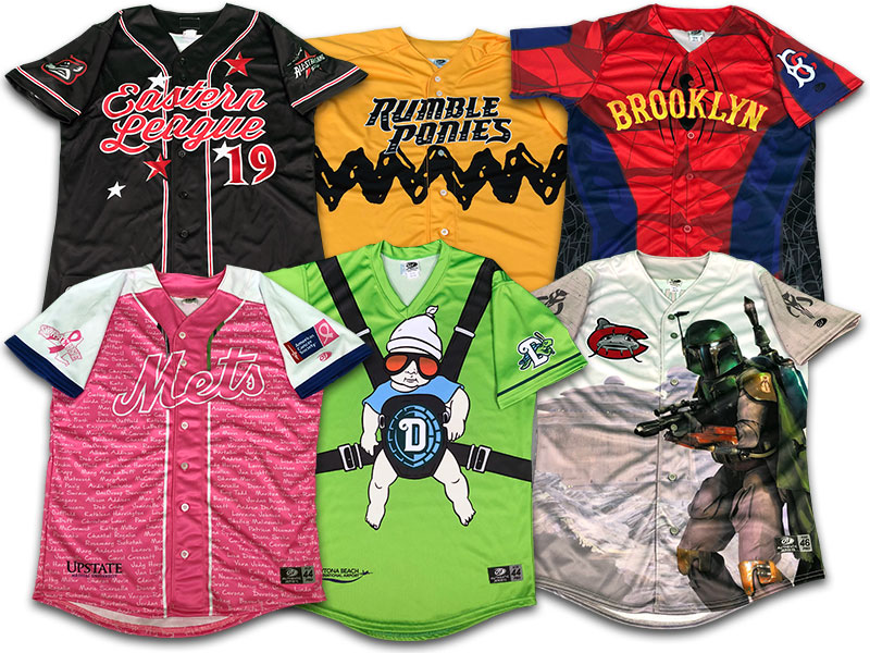 special event baseball jerseys
