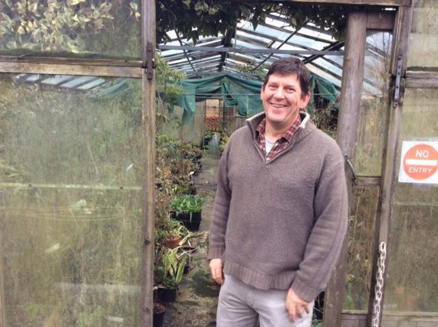 Kevin Hughes at Cally Gardens