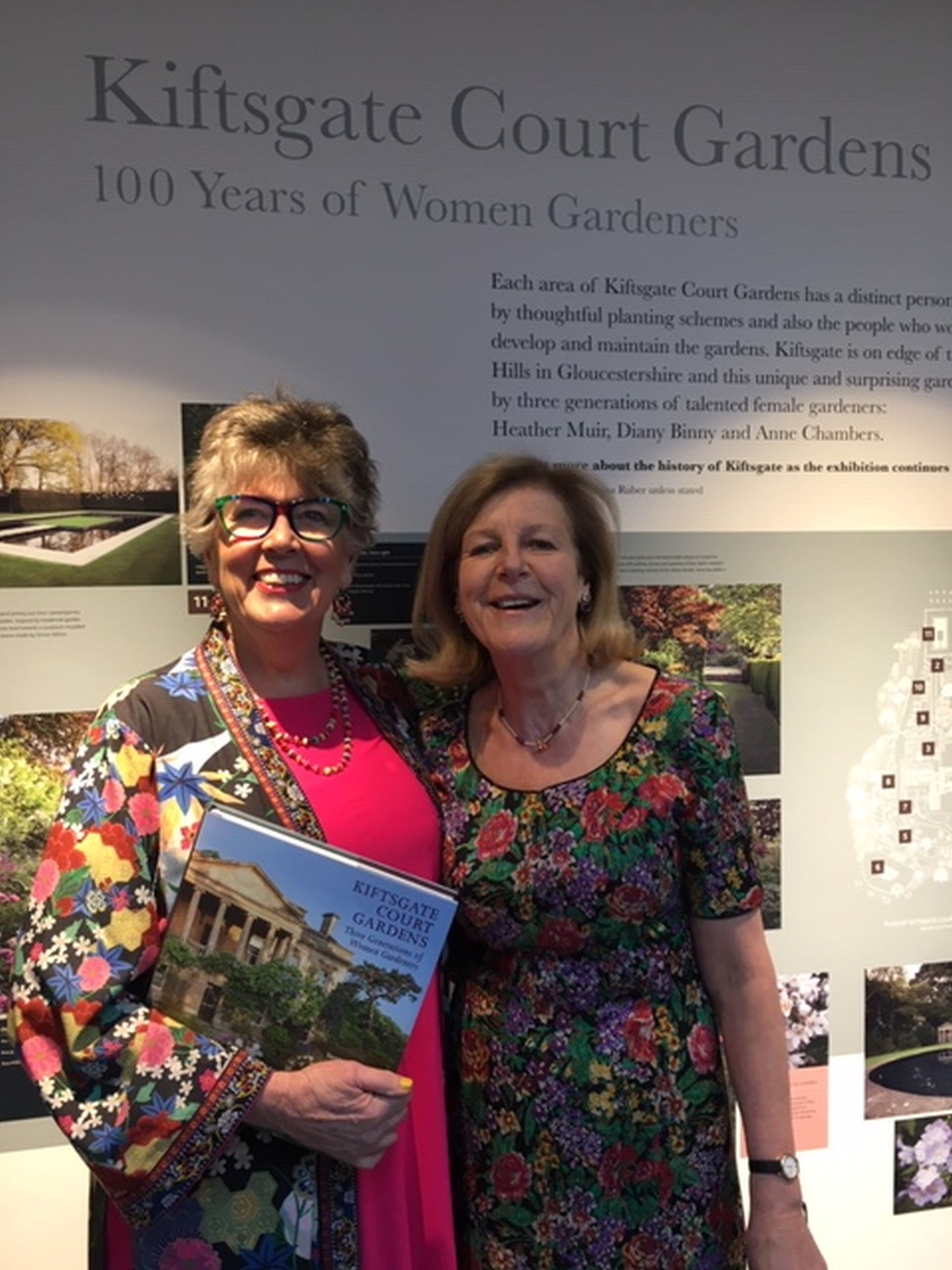 With Prue Leith at our launch.