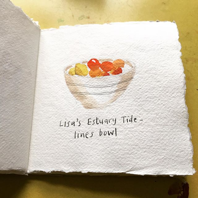 #inktober2019 #domestictreasures My friend Lisa makes gorgeous ceramic homeware using the horizons and tide lines of the Thames Estuary, near where she grew up, as the inspiration for decoration. There's something very special about owning and using something lovingly made by someone you know, especially when it's decoration holds its own story.  Follow Lisa's Instagram at @estuaryceramics  Follow Lisa's Instagram @estuaryceramics  #inktoberday14 #observationaldrawing #inkdrawing #ceramics #homeware