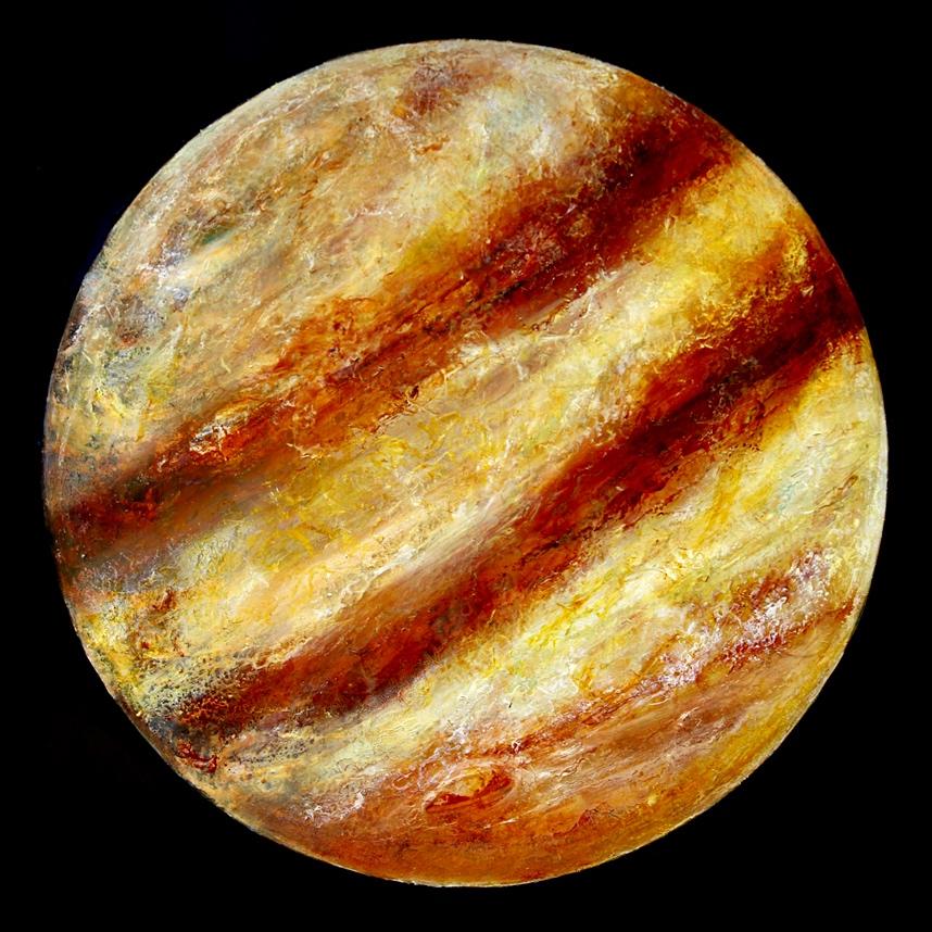 JOVE, oil on canvas, 130cm x 130cm