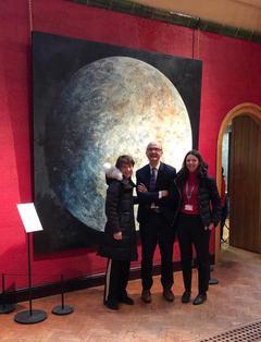 Charlie Barton, Alistair Burtenshaw and Dr Tessa Kilgarriff