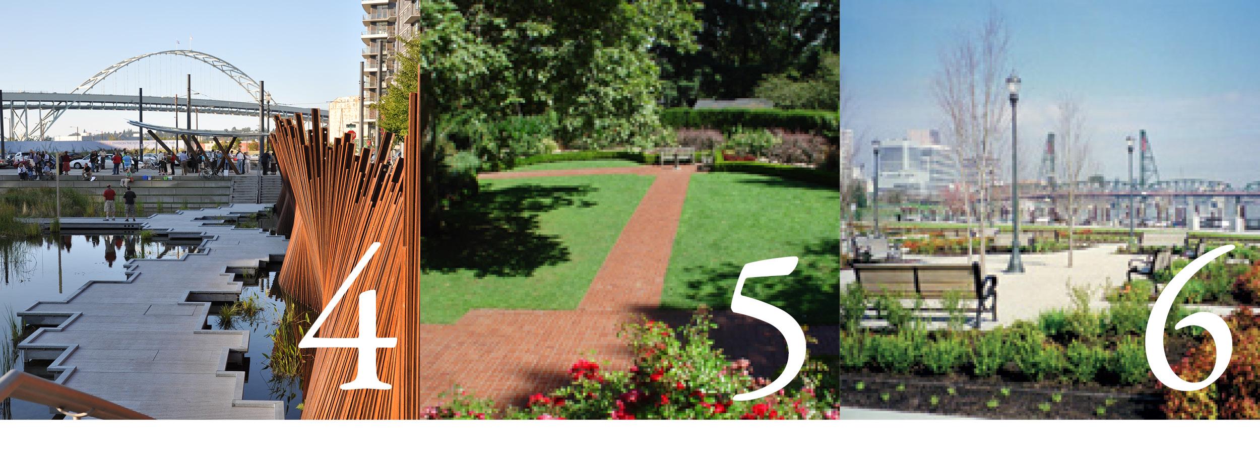 Photos 5 and 6 courtesy Portland Parks & Recreation