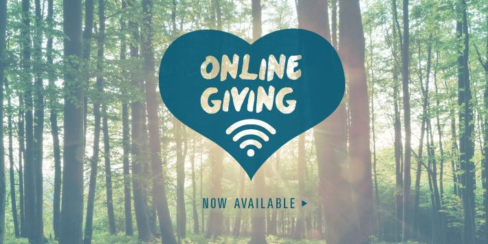 "Click the ""GIVE"" button below to give online!"