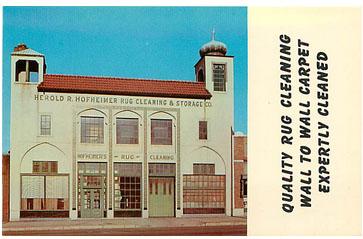 Original Postcard Advertisement