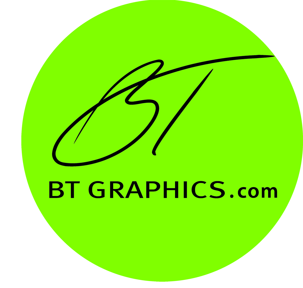 BT Graphics Logo and Website
