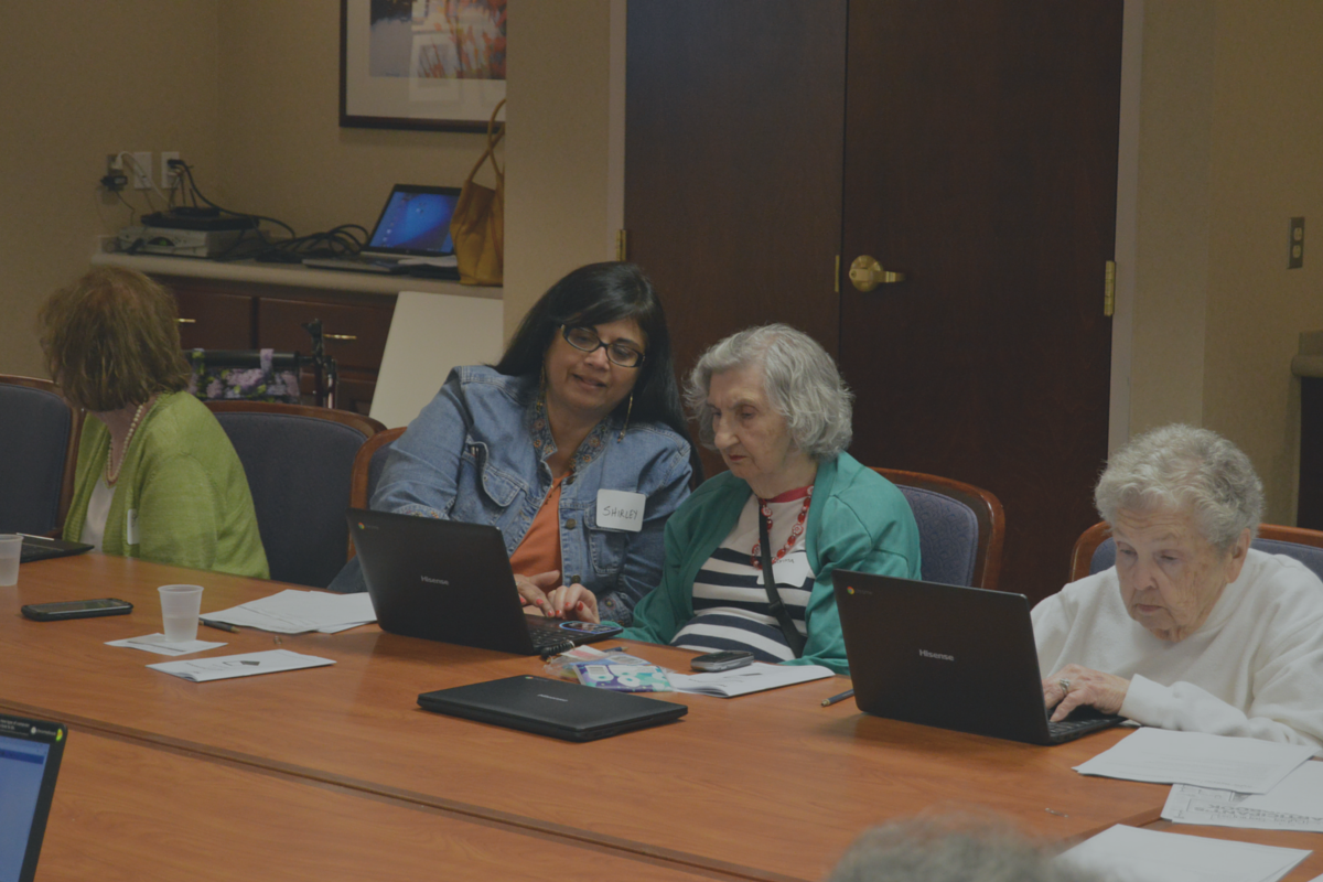 Cyber-Seniors Event-#AfidenceInAction