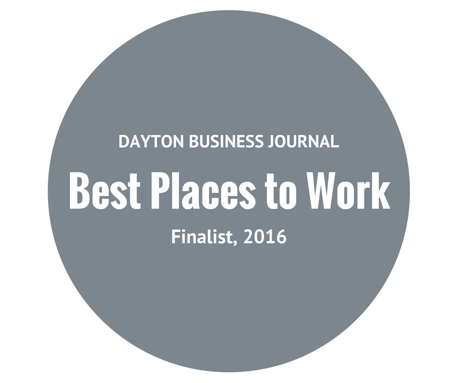 Afidence, Best Places to Work, Dayton Business Journal, 2016