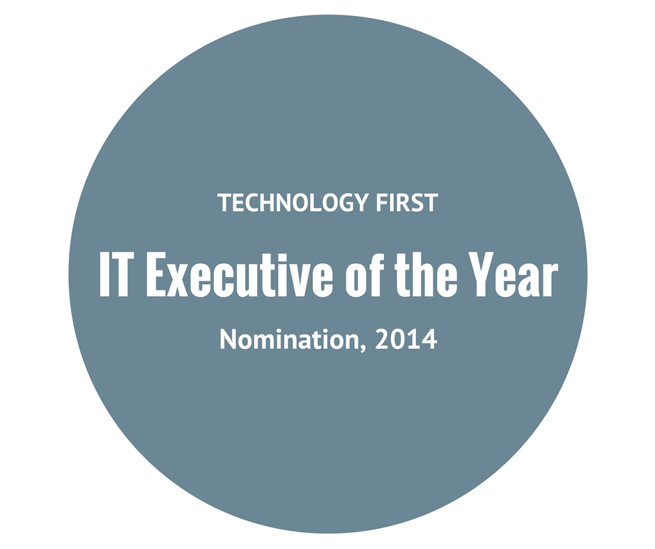 Bryan Hogan IT Executive of the Year