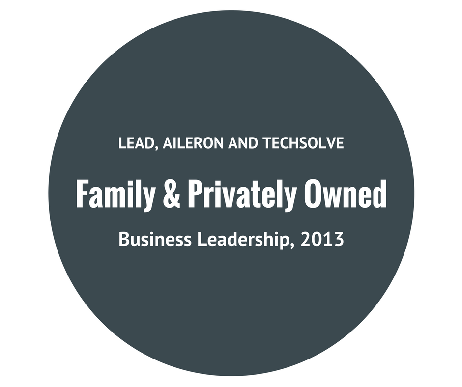 Afidence: Family and Privately Owned Business Leadership by Lead, Aileron, and Techsolve, 2013