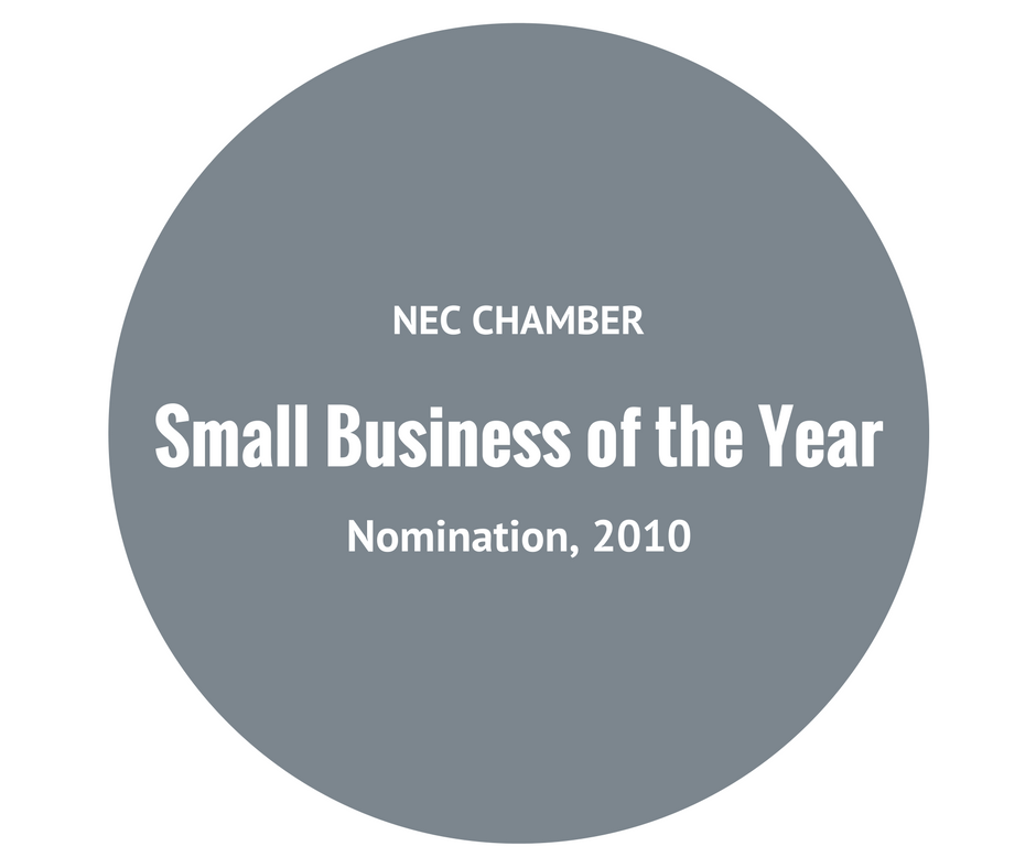 Afidence Small Business of the Year NEC Chamber